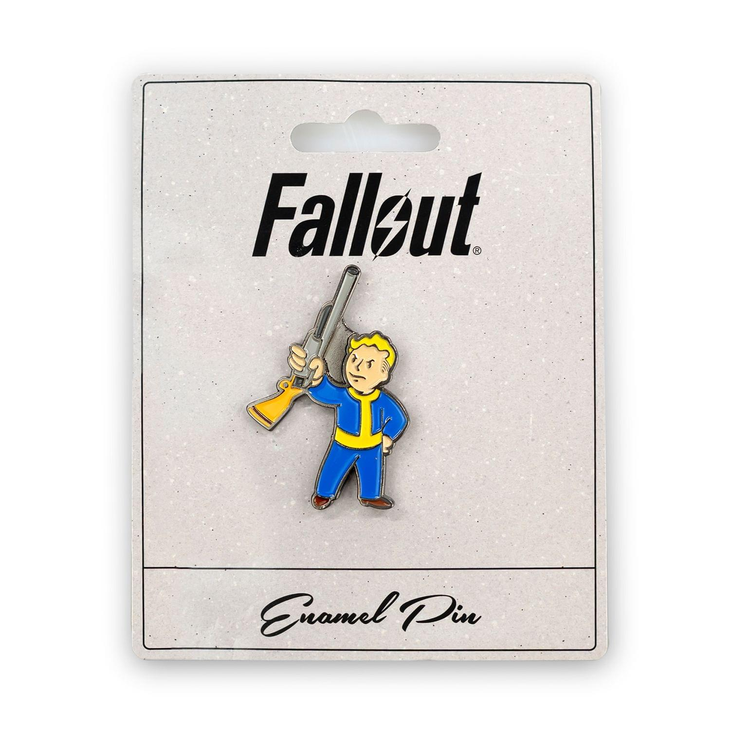 Fallout Basher Perk Pin | Official Fallout Video Series Game Small Enamel Pin