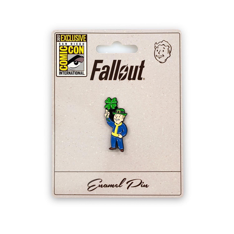 Fallout Luck S.P.E.C.I.A.L. Perk Pin | Official Fallout Video Game Enamel Pin