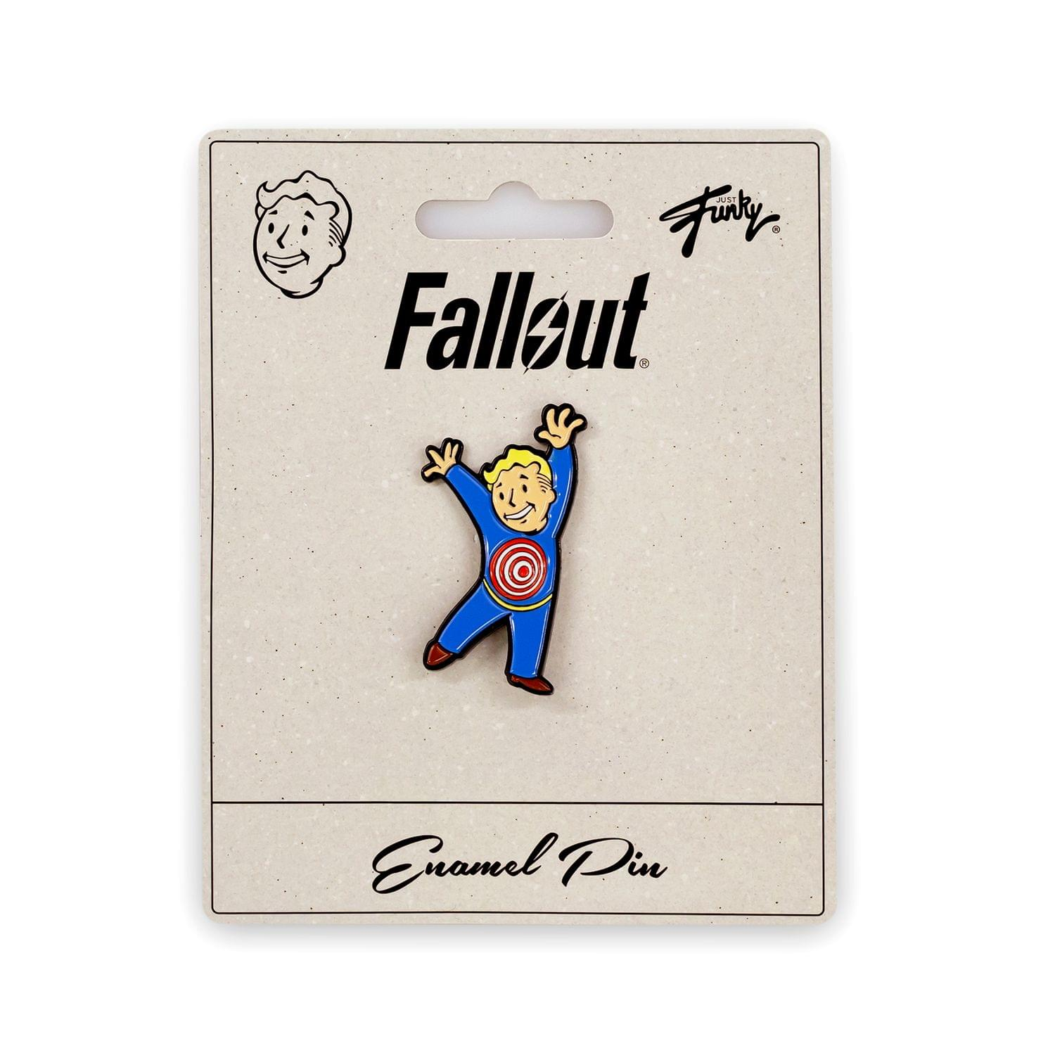 Fallout Collectibles | Vault Boy Collector's Edition Moving Target Perk Pin