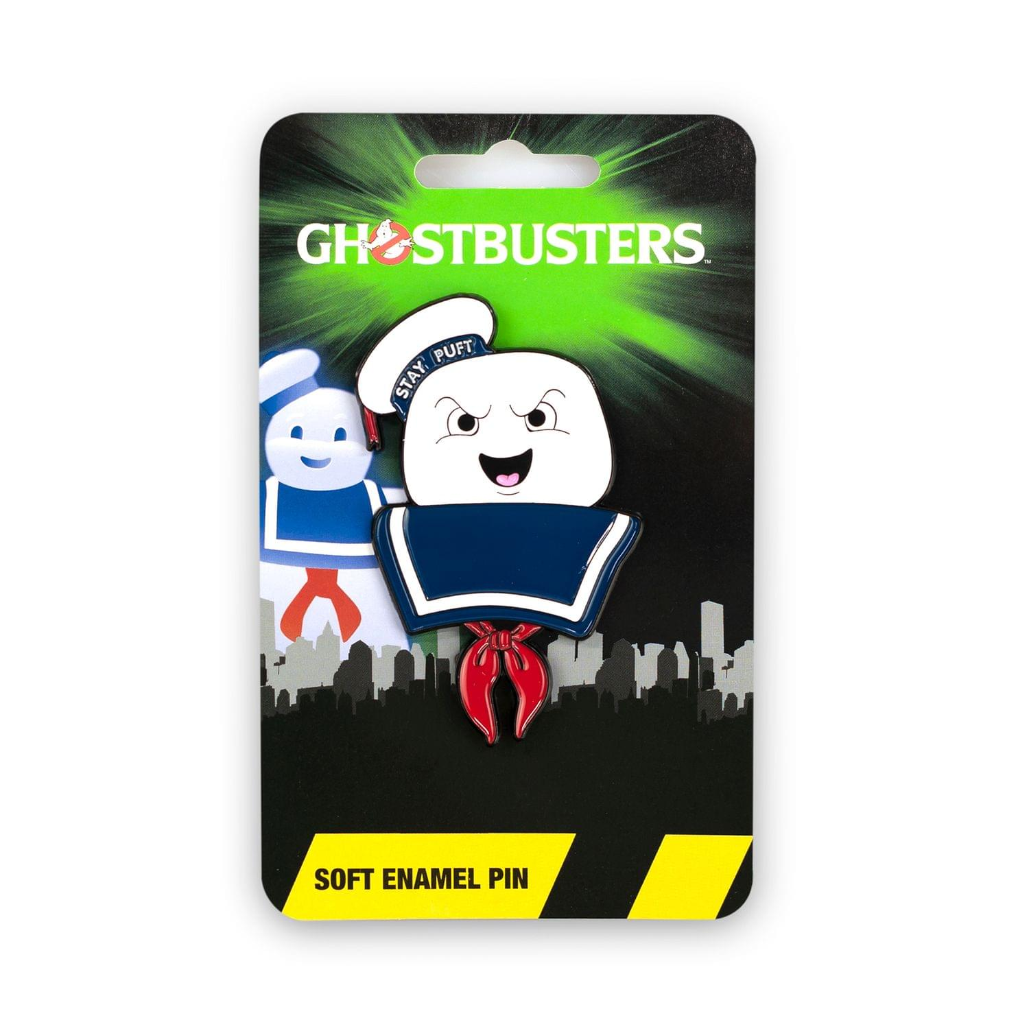 Ghostbusters Collectibles | Ghostbusters Stay Puft Marshmallow Man Enamel Collector Pin