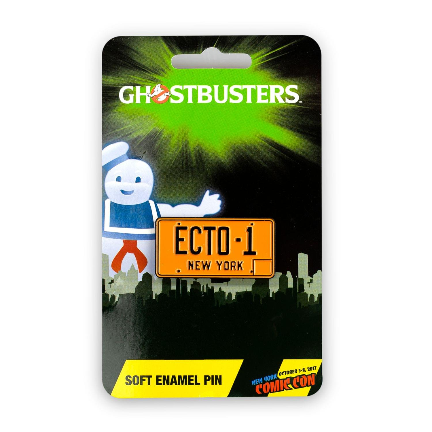 Ghostbusters Exclusive Ecto-1 License Plate Pin | Perfect For Ghostbuster Fans