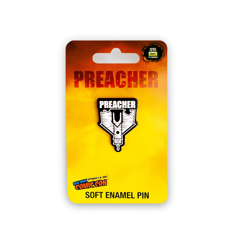 AMC's Preacher Collectibles Enamel Collector Pin | Collectors Edition