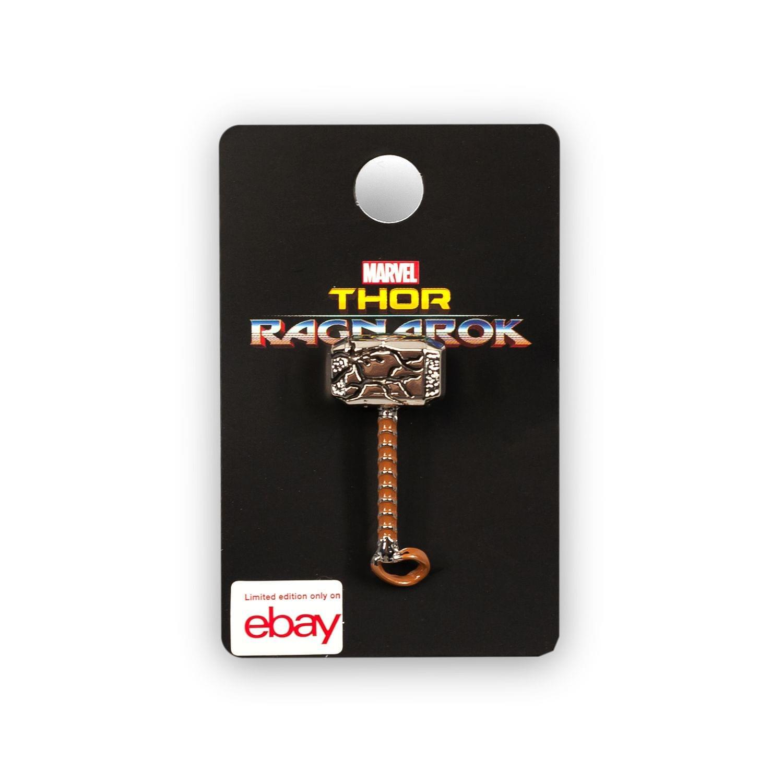 OFFICIAL Thor Ragnarok Cracked Mjolnir Hammer | Enamel Collector Pin | 1.5