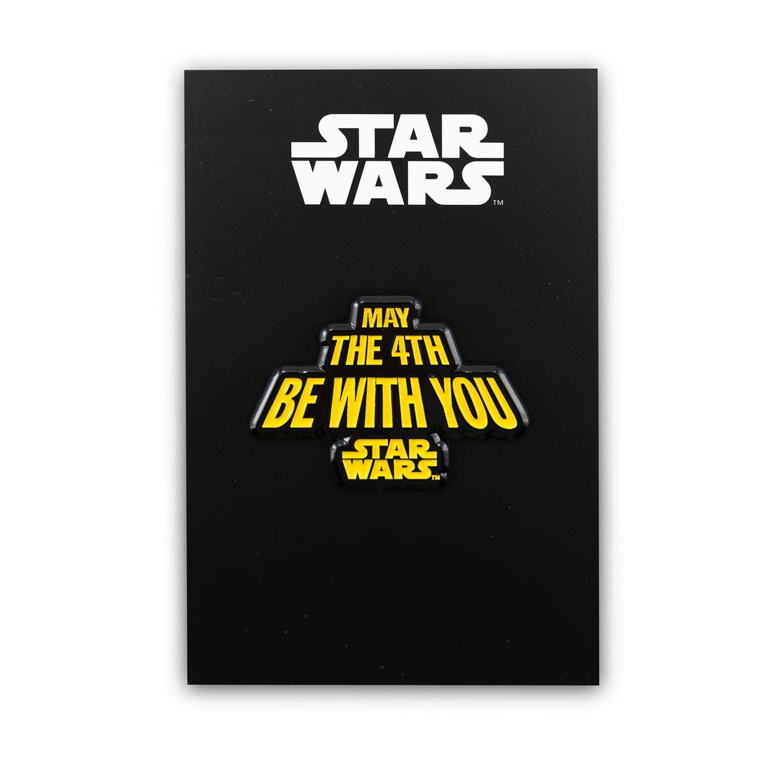 Star Wars May The Fourth Be With You Pin | Enamel Star Wars Collector Pin