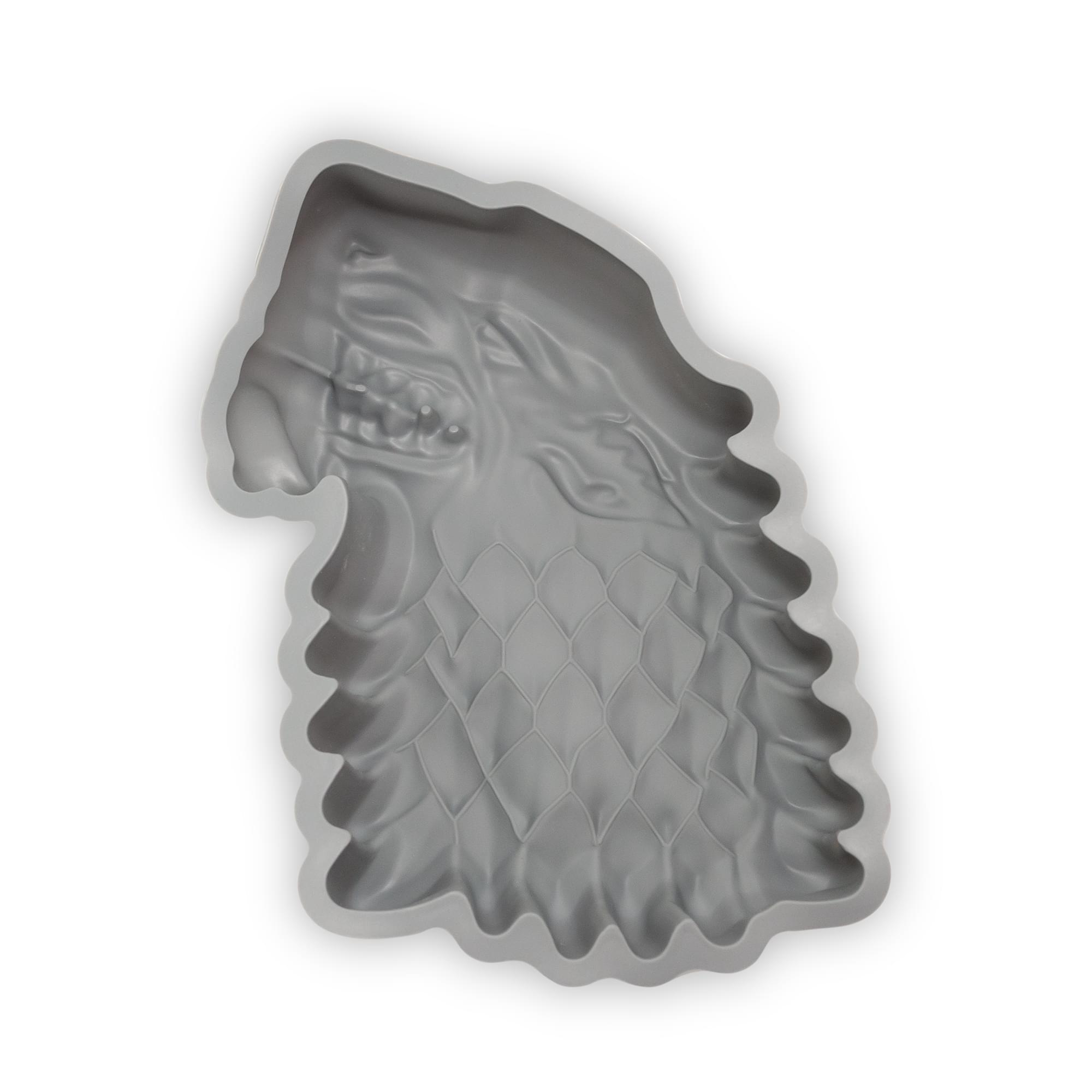 Game Of Thrones Silicone Cake Pan | Official House Stark Dire Wolf Cake Mold
