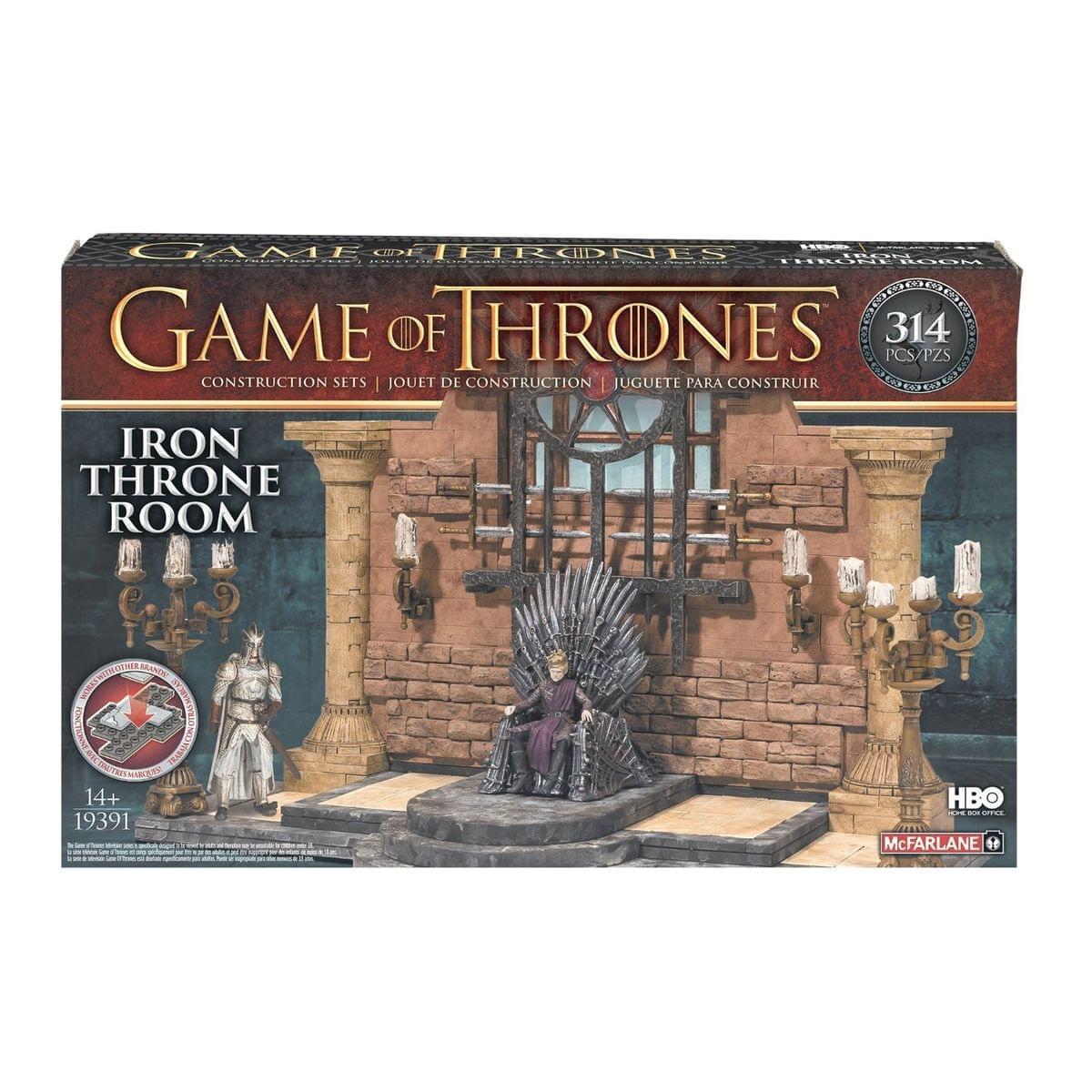 Game of Thrones Consturction Set Iron Throne Room