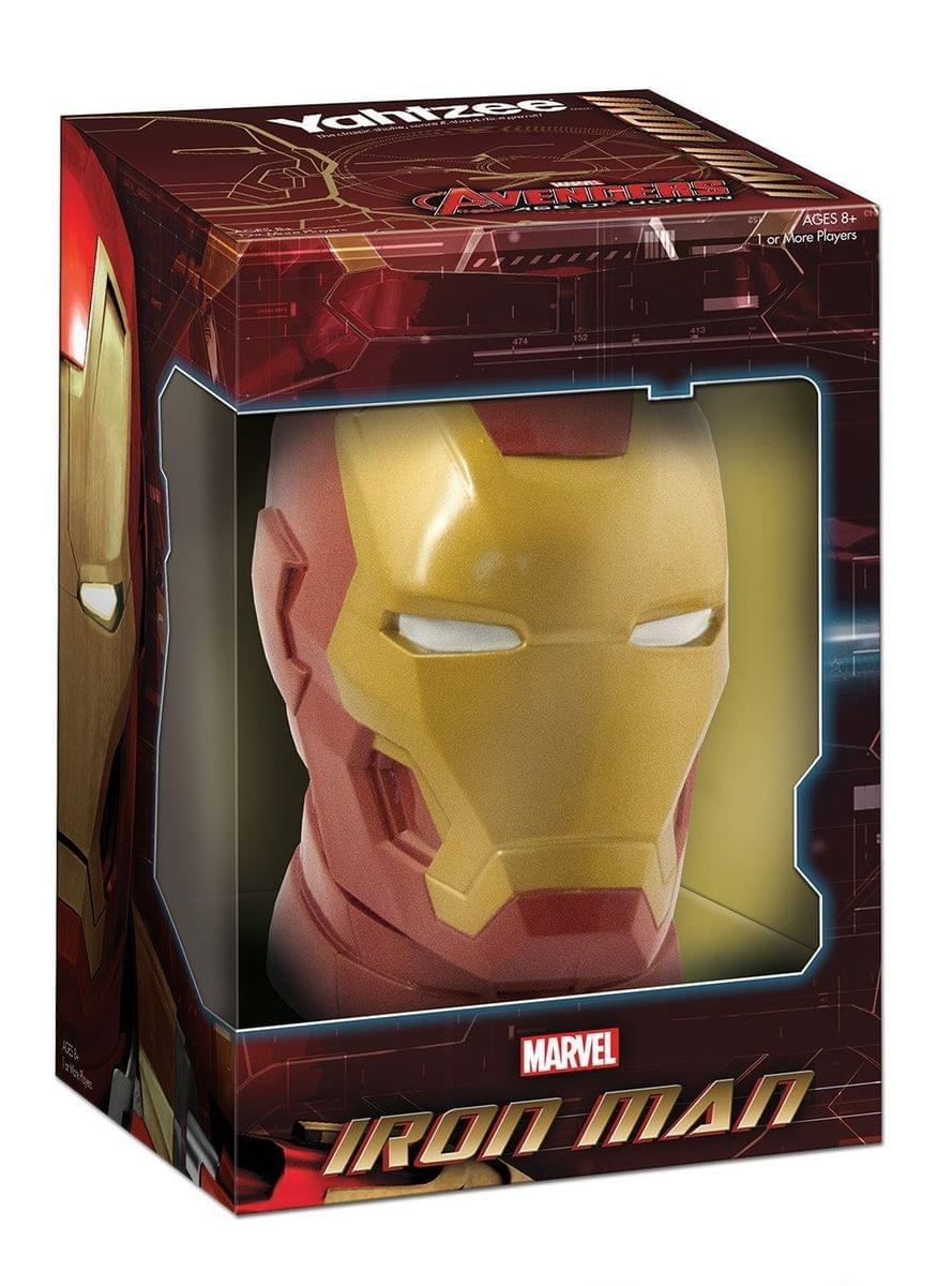 Yahtzee The Avengers Iron Man Dice Game