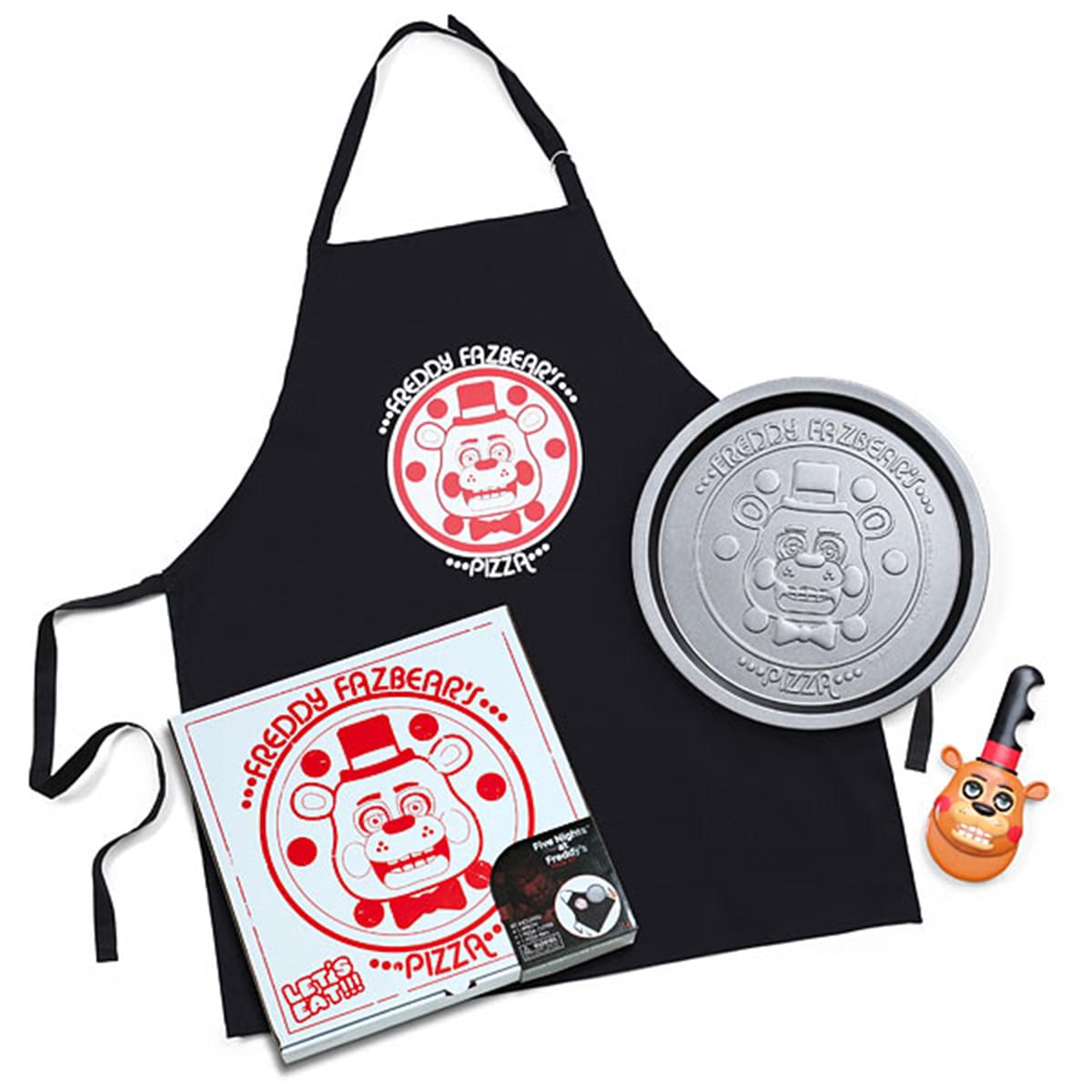 Five Nights At Freddy's 3-Piece Pizza Kit