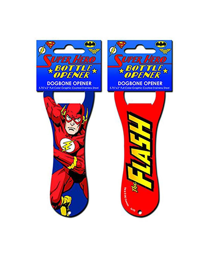 DC Comics The Flash Pop Art Dogbone Bottle Opener
