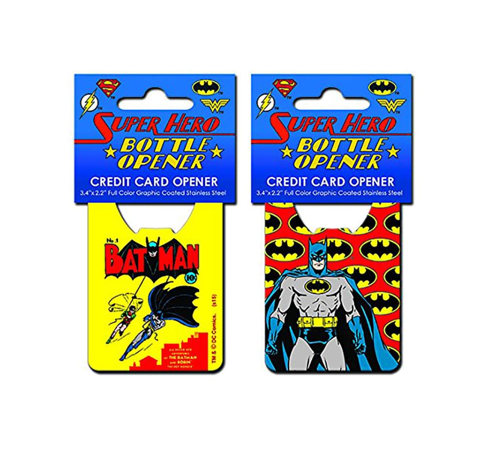 DC Comics Batman Pop Art Credit Card Bottle Opener