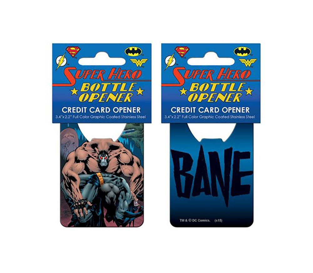 DC Comics Bane Credit Card Bottle Opener
