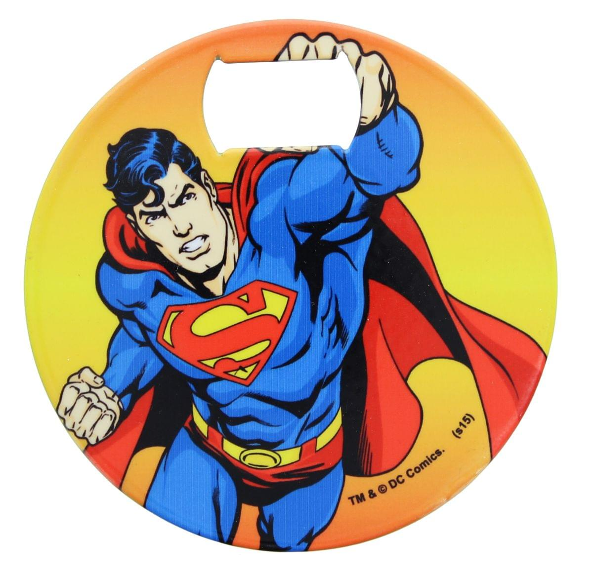 DC Comics Superman Iconic Coaster Bottle Opener