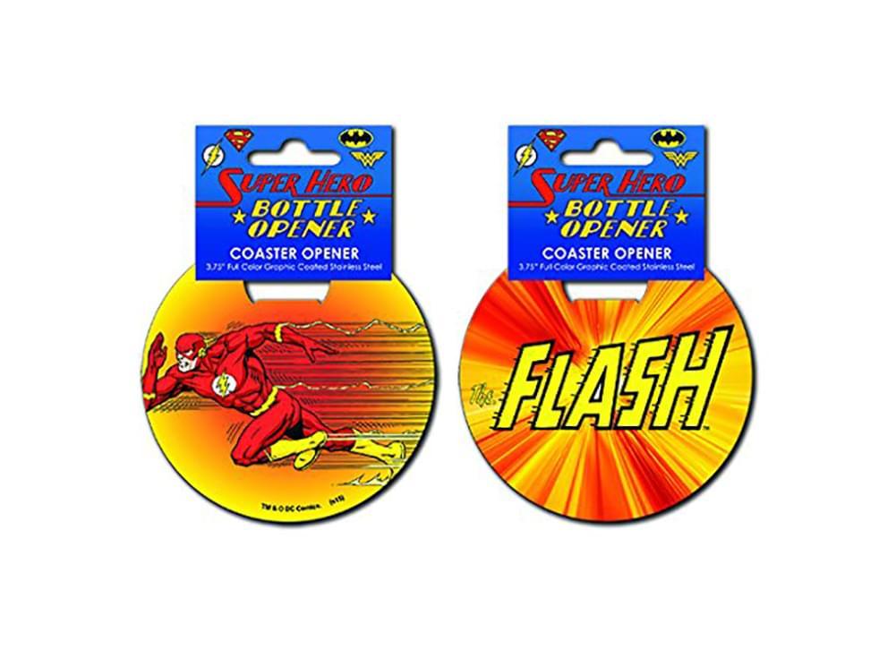 DC Comics The Flash Super Speed Coaster Bottle Opener