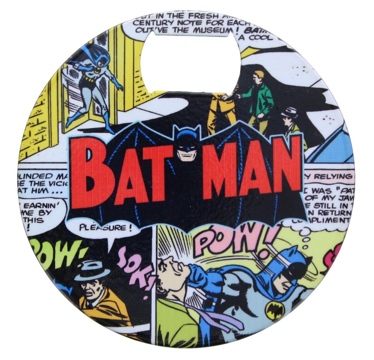 DC Comics Batman Comic Coaster Bottle Opener