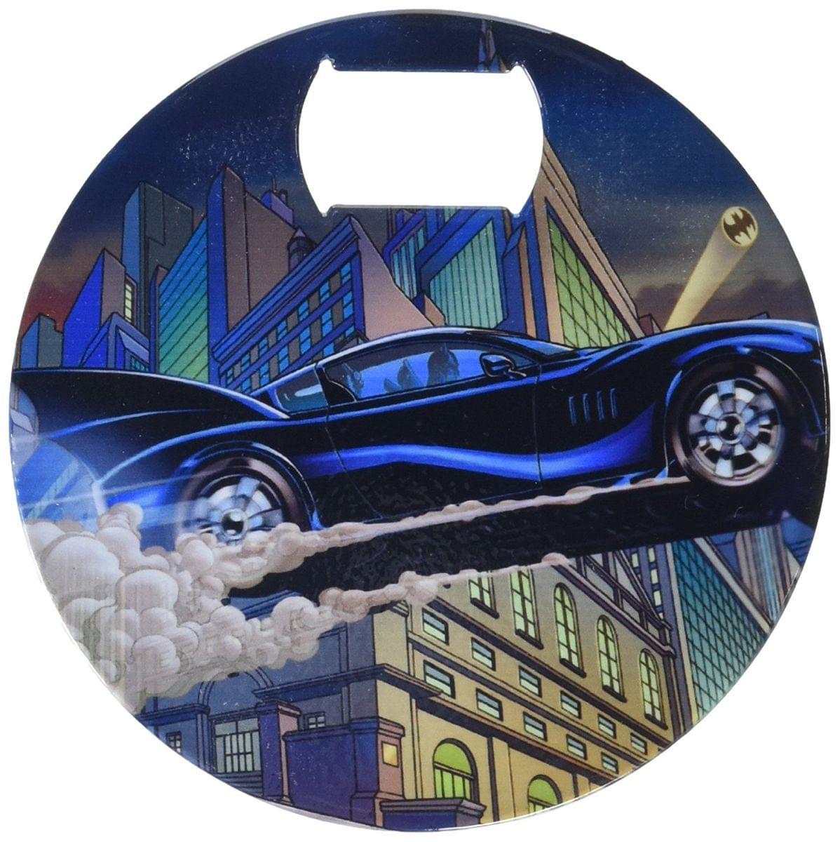 DC Comics Batman Batmobile Coaster Bottle Opener