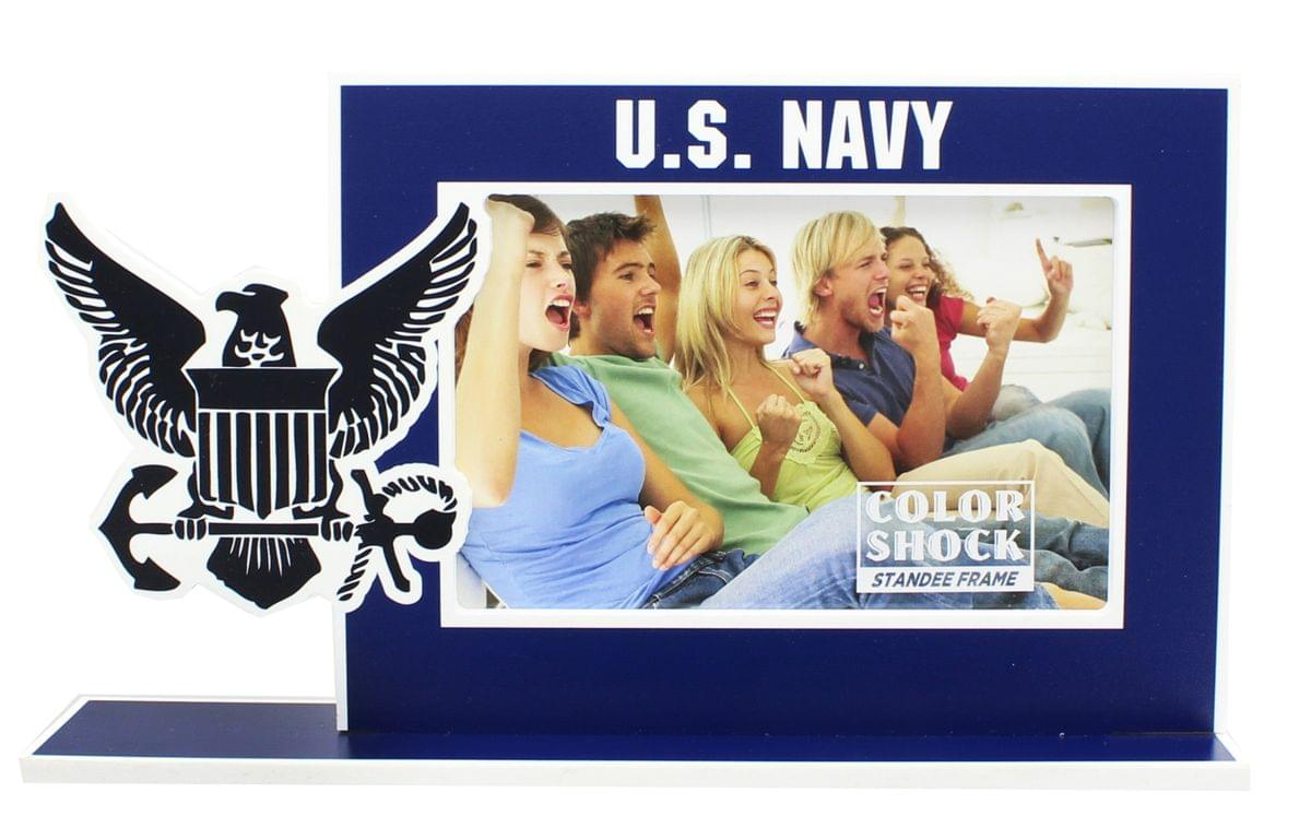 "U.S. Navy Color Shock 4""X6?Standee Picture Frame"