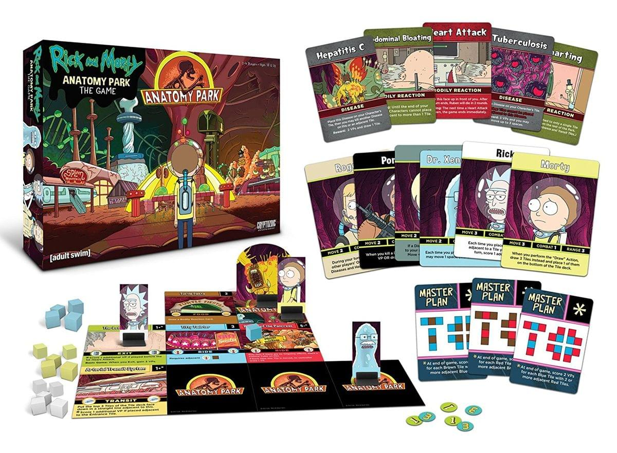 Rick And Morty Anatomy Park Card Game Ebay