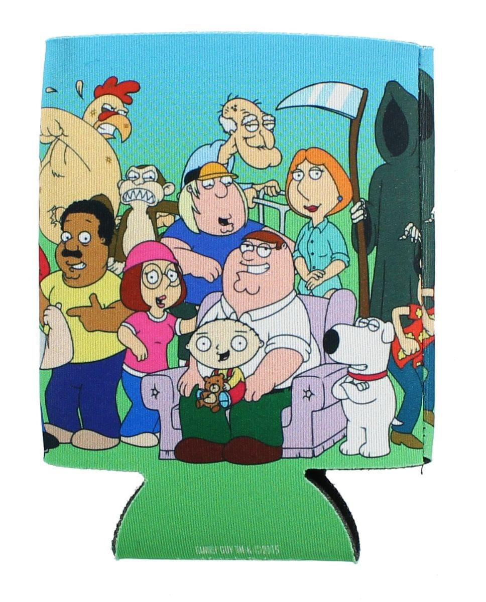 Family Guy Group Cast Can Cooler