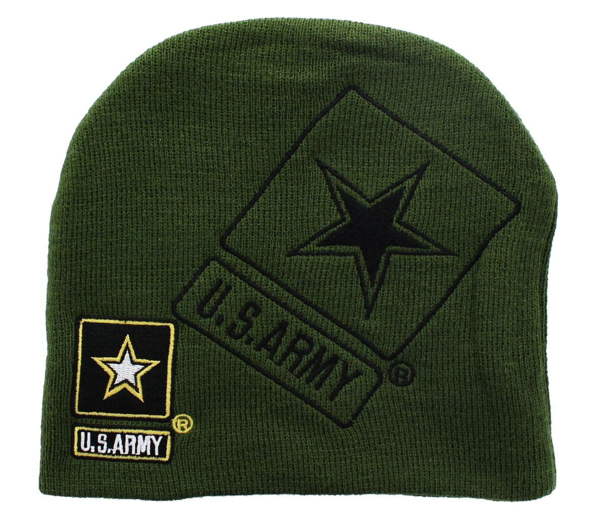 U.S. Army Official Licensee Green Beanie