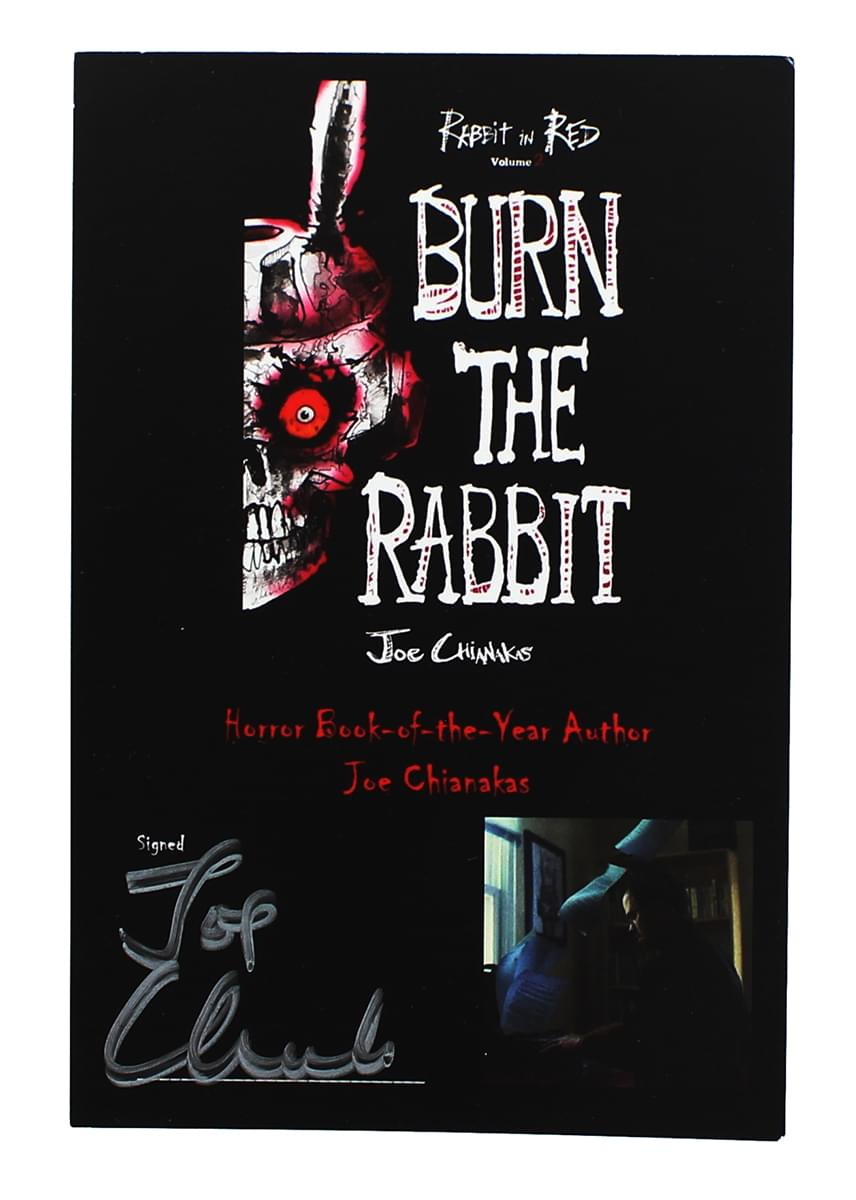 Burn The Rabbit Book Author Signed Download Code