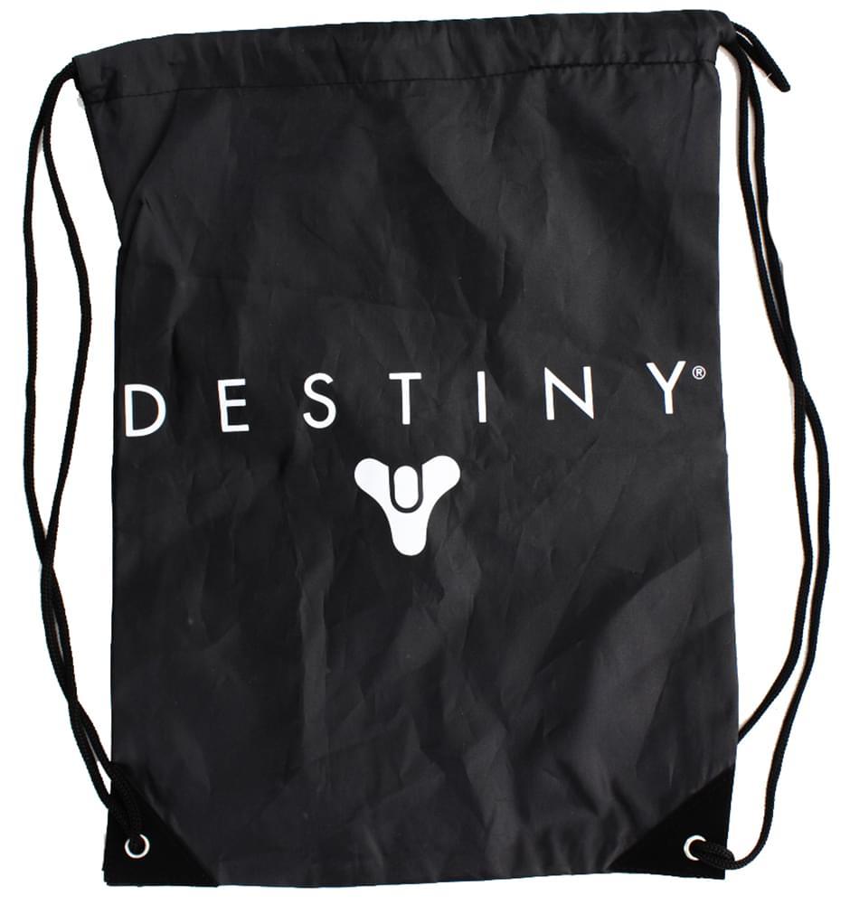 Destiny Drawstring Tote Bag