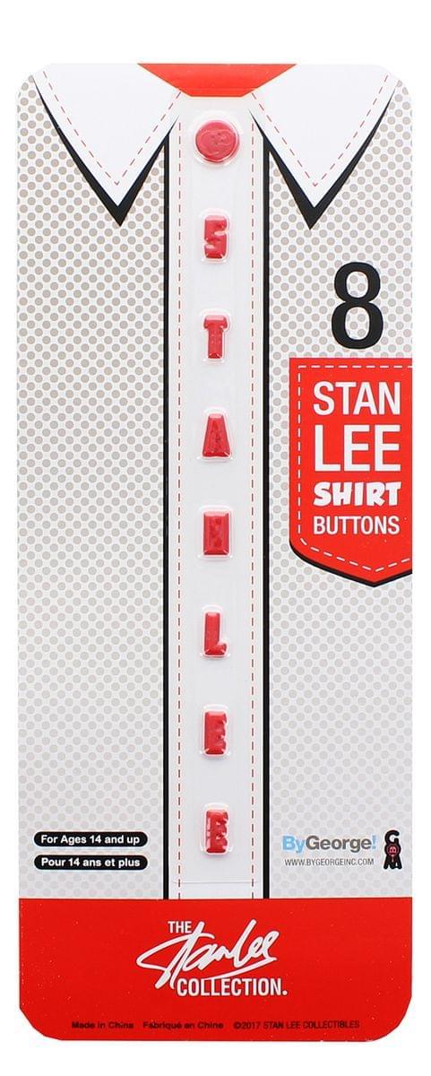 Stan Lee Shirt Buttons Set