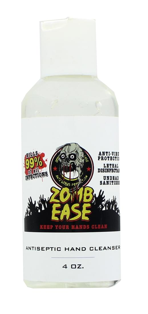 ZombEase 4oz Antiseptic Hand Cleaner
