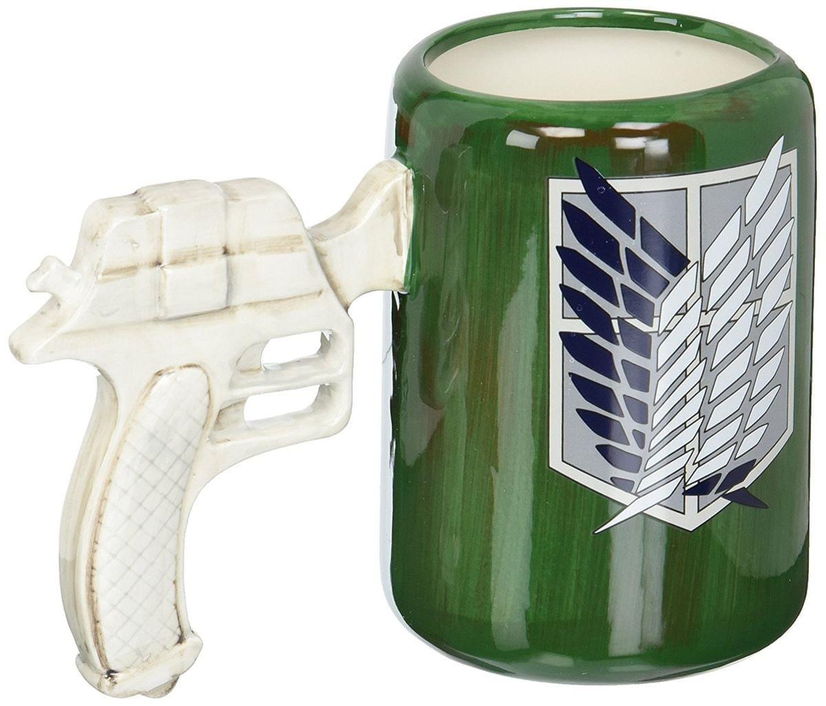 Attack on Titan: 3D Maneuvering Gear Handle Molded Mug