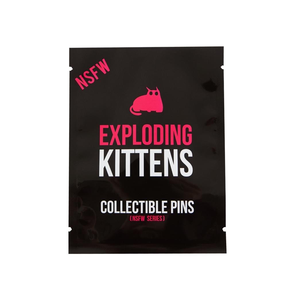 Exploding Kittens Series 2 NSFW Edition Blind Bag Enamel Pin, One Random