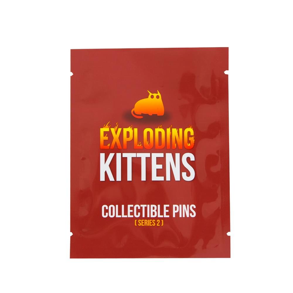 Exploding Kittens Series 2 Blind Bag Enamel Collector Pin, One Random