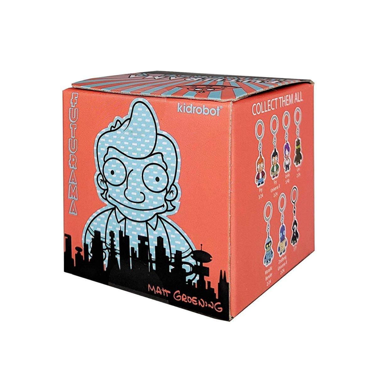 Futurama Universe X2 Blind Box Keychain Series - One Random
