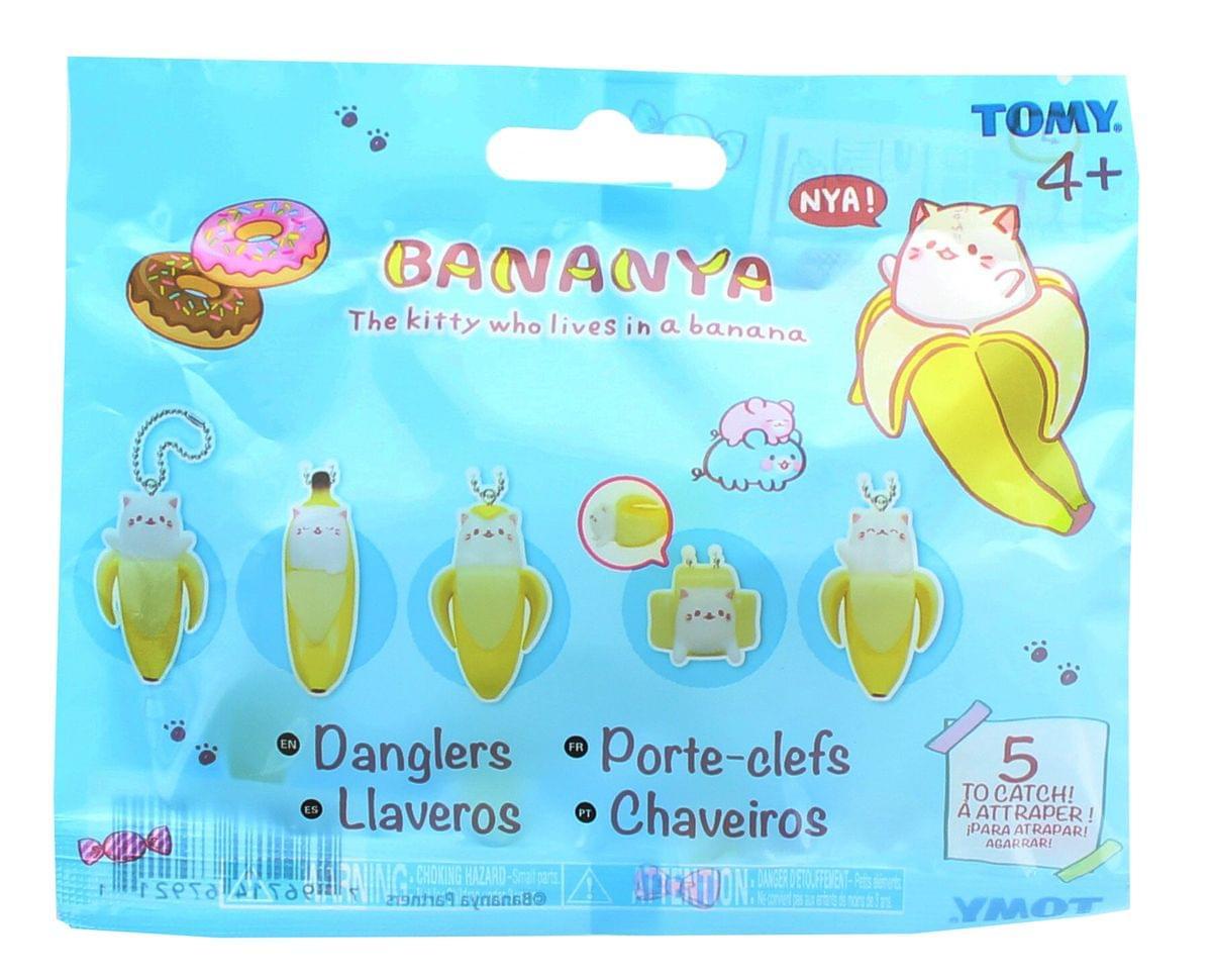 Bananya Blind Bag Dangler Keychain - One Random