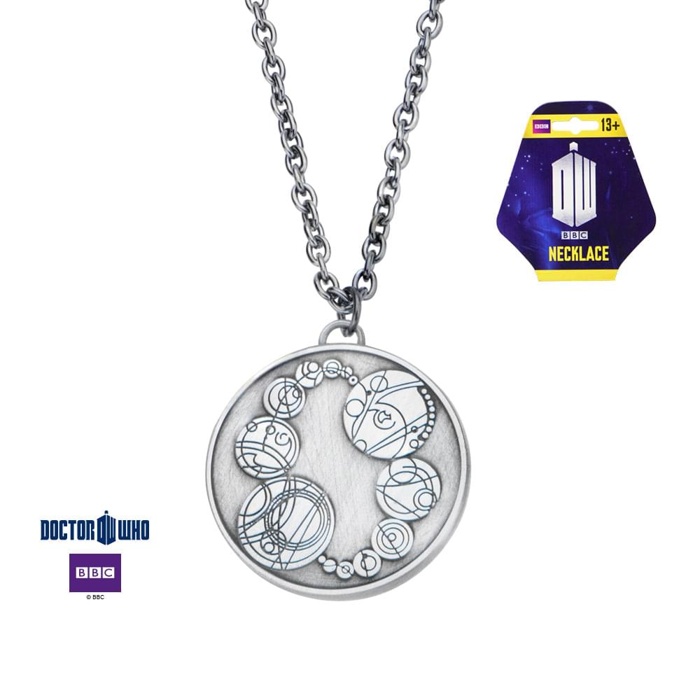 Dr. Who Master's Saxon Stainless Steel Pendant Necklace
