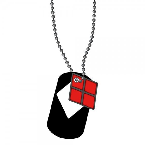 DC Comics Harley Quinn Dog Tags