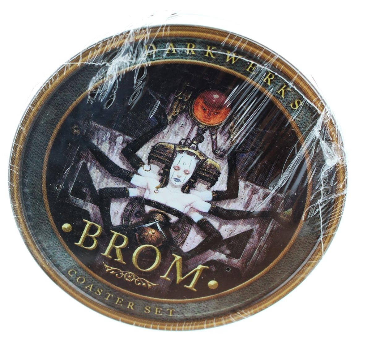 Brom Darkwerks 4-Piece Coaster Set
