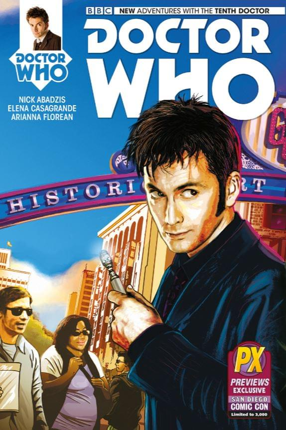 Doctor Who: The Tenth Doctor #1 Comic Book (SDCC Exclusive)