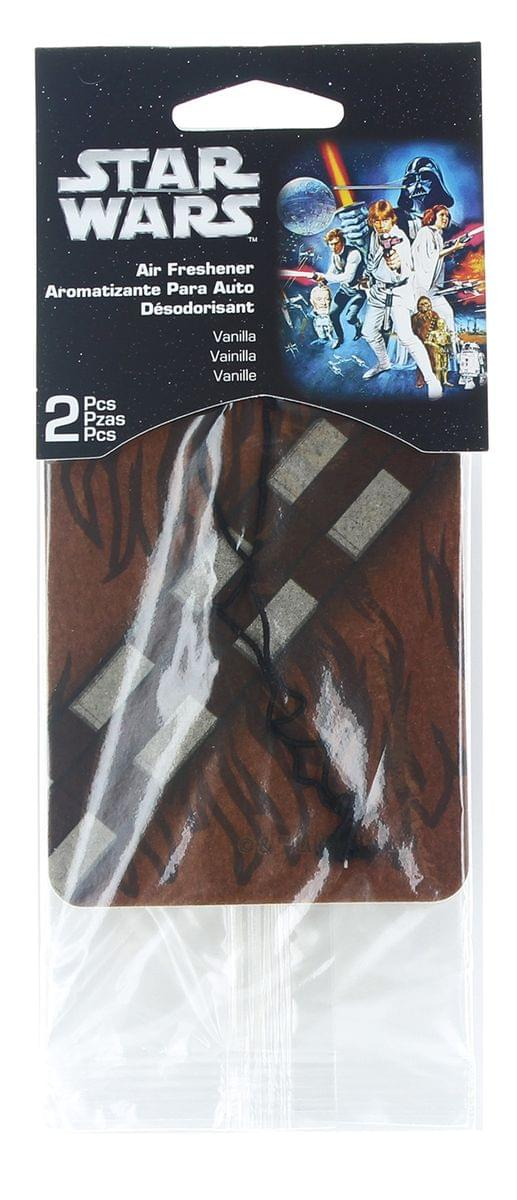 Star Wars Chewbacca Car Air Freshener 2-Pack (Vanilla Scent)