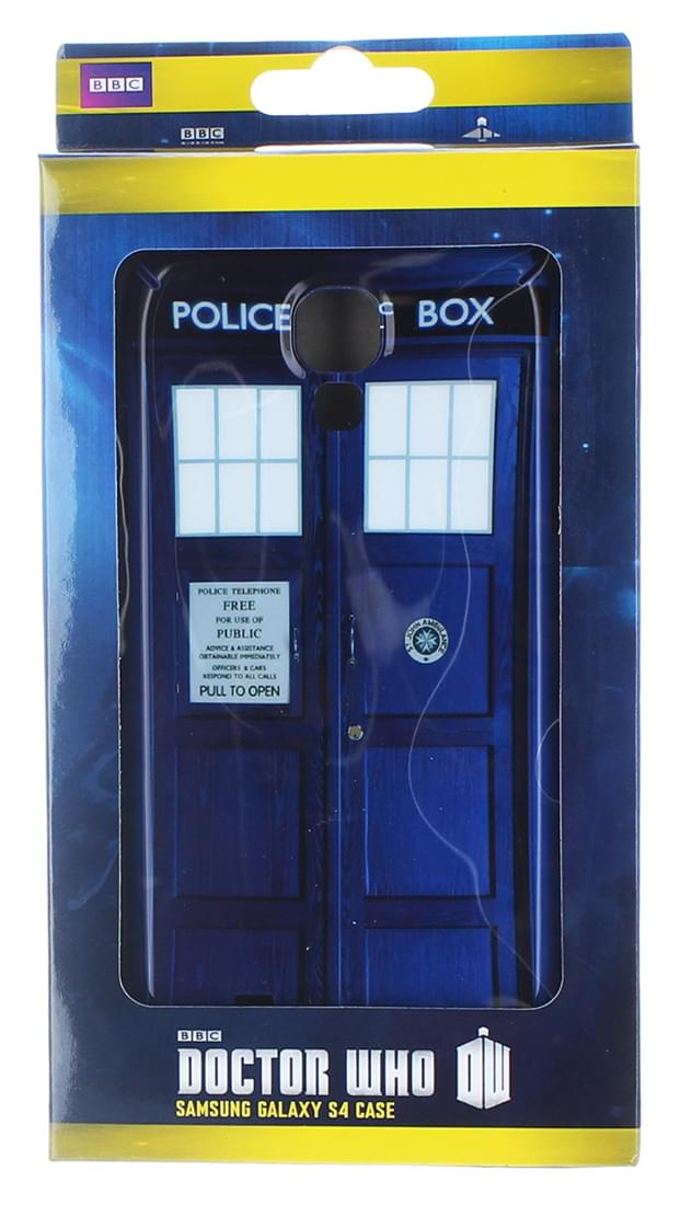 Doctor Who Samsung Galaxy S4 Hard Snap Case I Am TARDIS