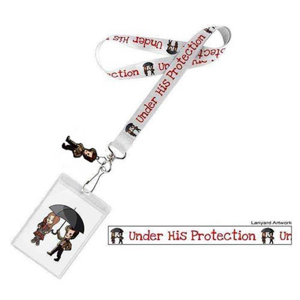 Doctor Who Under His Protection with 3D Matt Smith Lanyard Charm