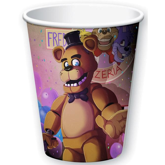 Five Nights At Freddy's 8ct 9oz Paper Cups