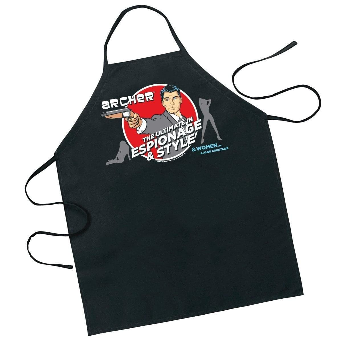 Archer: The Ultimate in Espionage Adult Apron