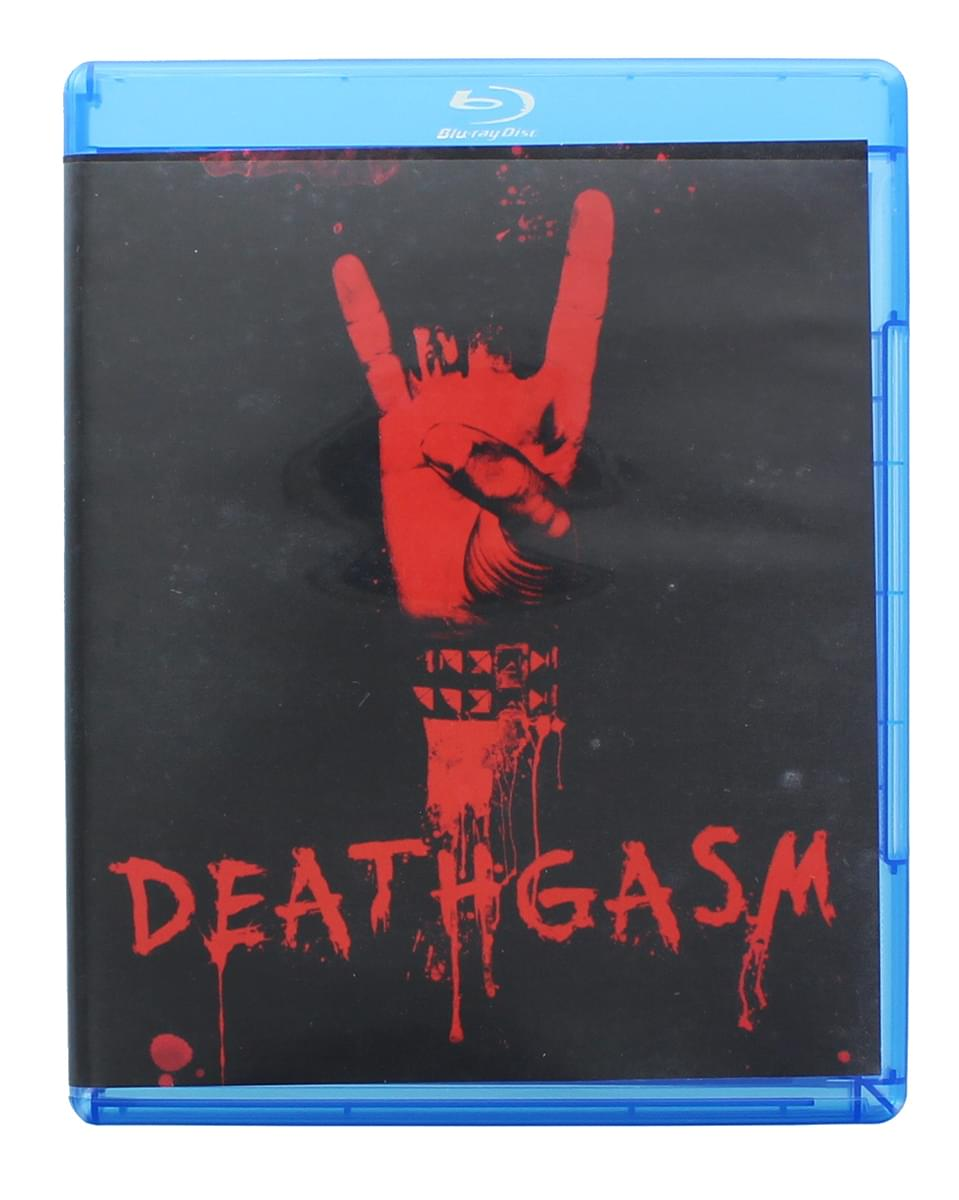 Deathgasm Blu-ray Disc, Horror Block Exclusive Cover Art