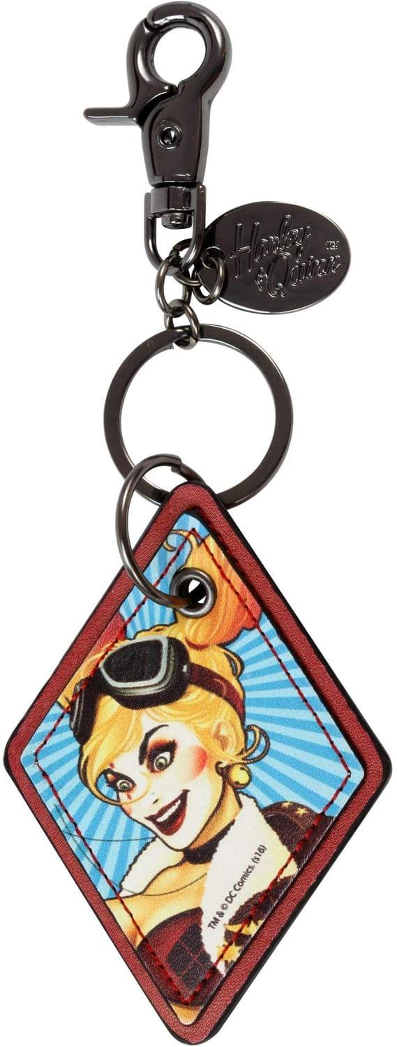 DC Comics Bombshells Harley Quinn Faux Leather Keychain