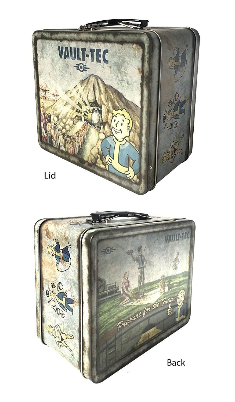Fallout 4 Vault-Tec Weathered Tin Tote Prop Replica