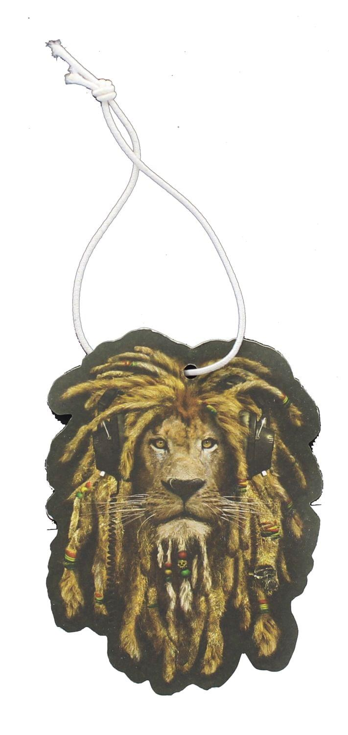 Reggae Lion New Car Scent Hanging Air Freshener