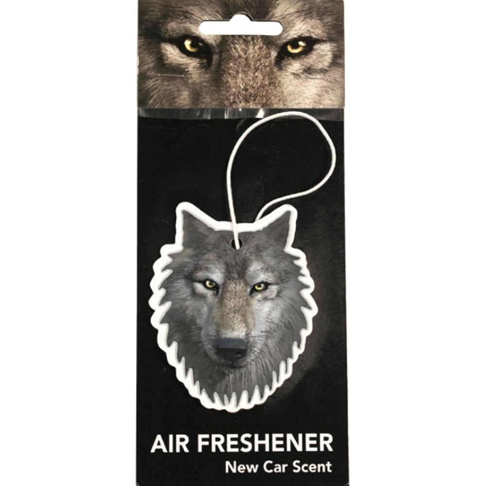 Wolf New Car Scent Hanging Air Freshener