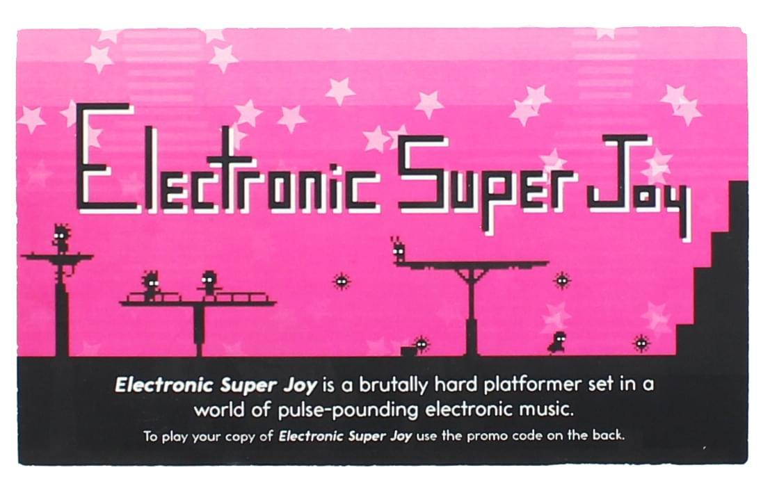 Electronic Super Joy PC Video Game - Steam Digital Download Code