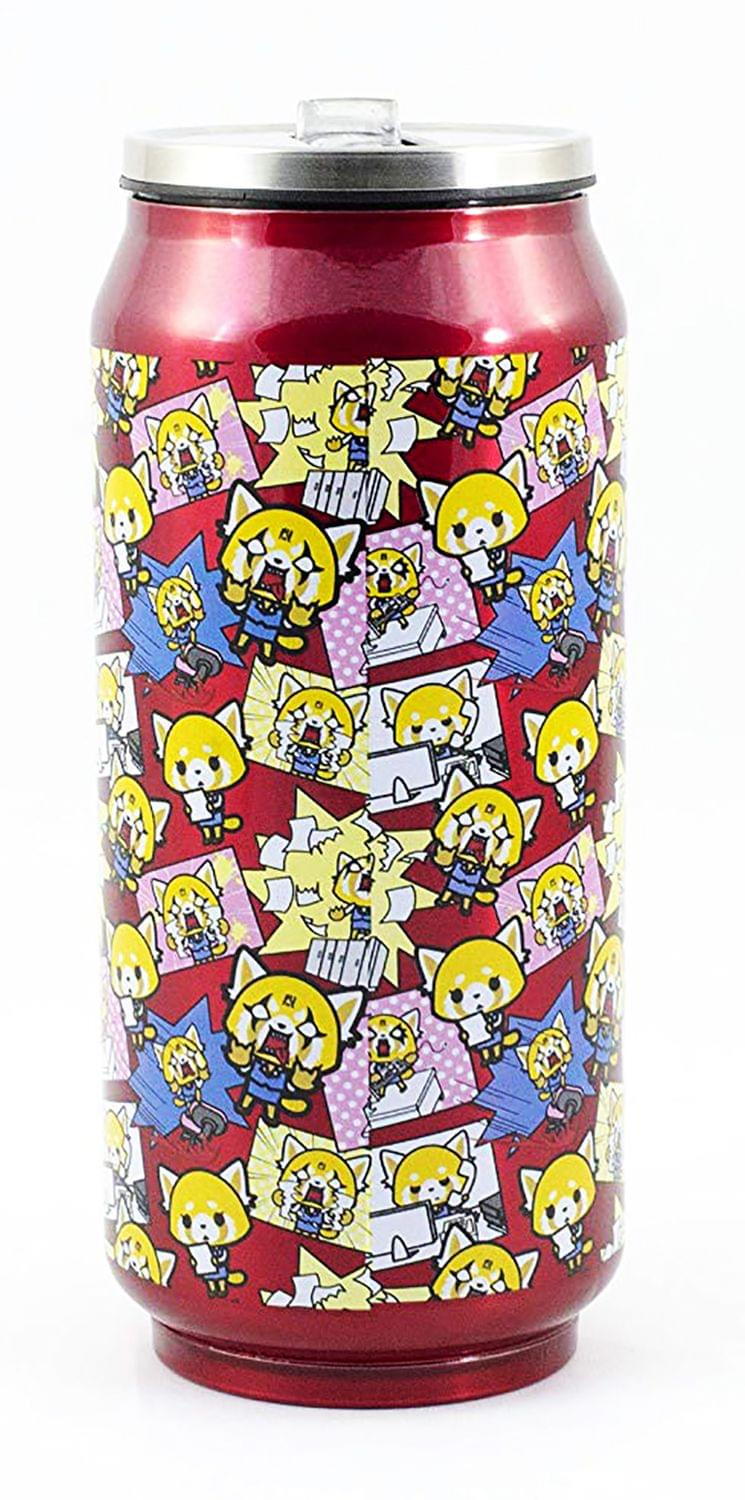 Aggretsuko Pink Power Travel Can