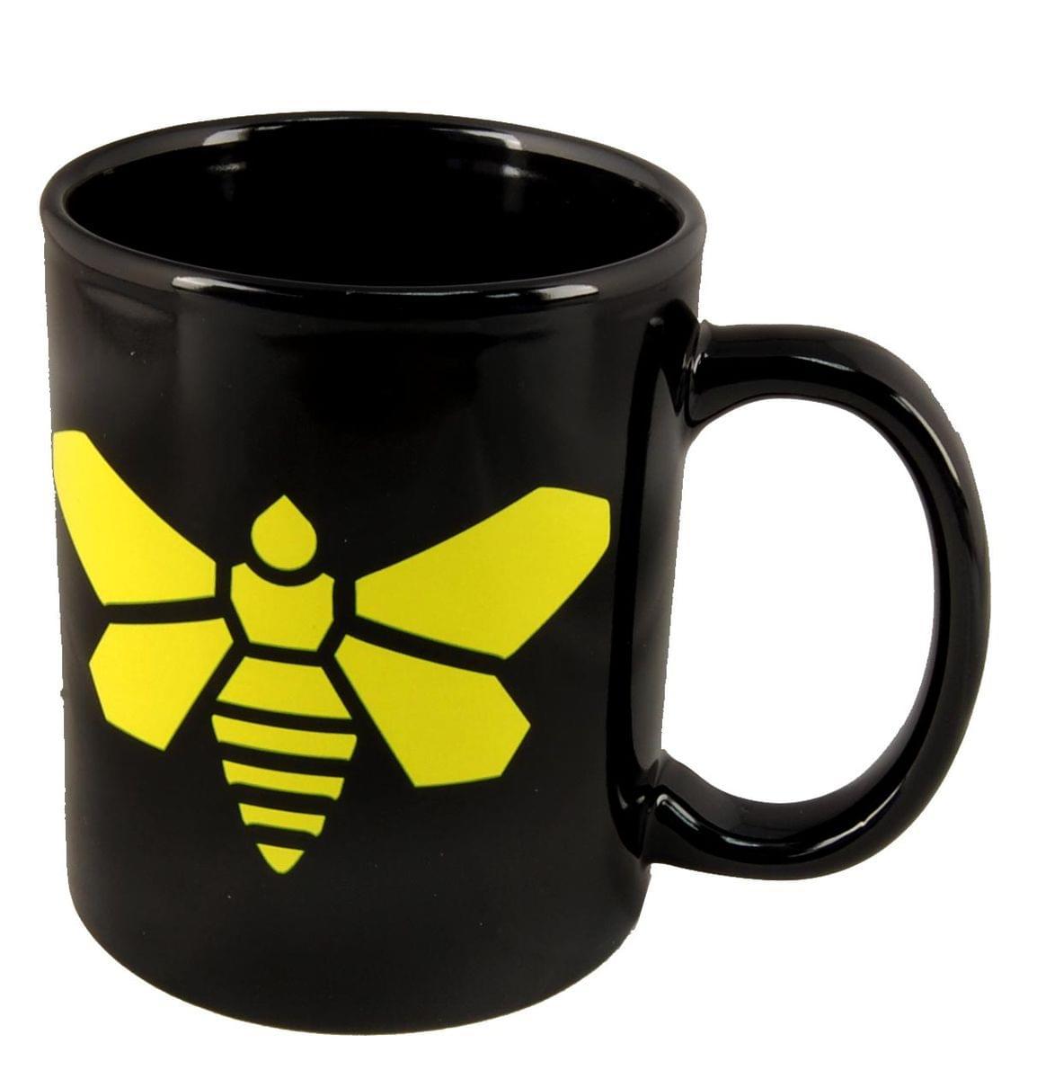 Breaking Bad Yellow Moth Ceramic 12 Ounce Coffee Mug