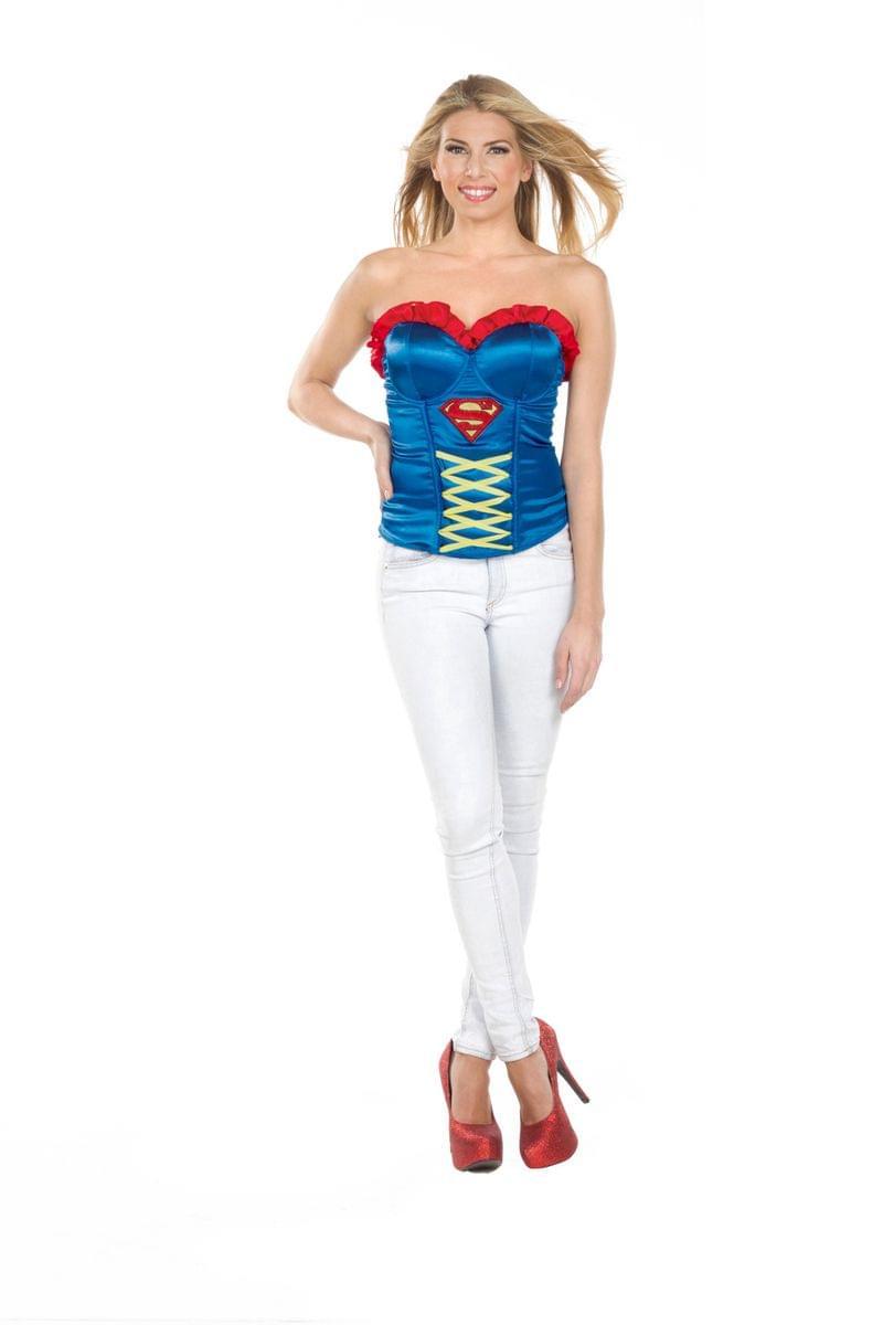 0b3ba90b4d3 DC Comics Supergirl Corset Adult Costume Medium 883028750269